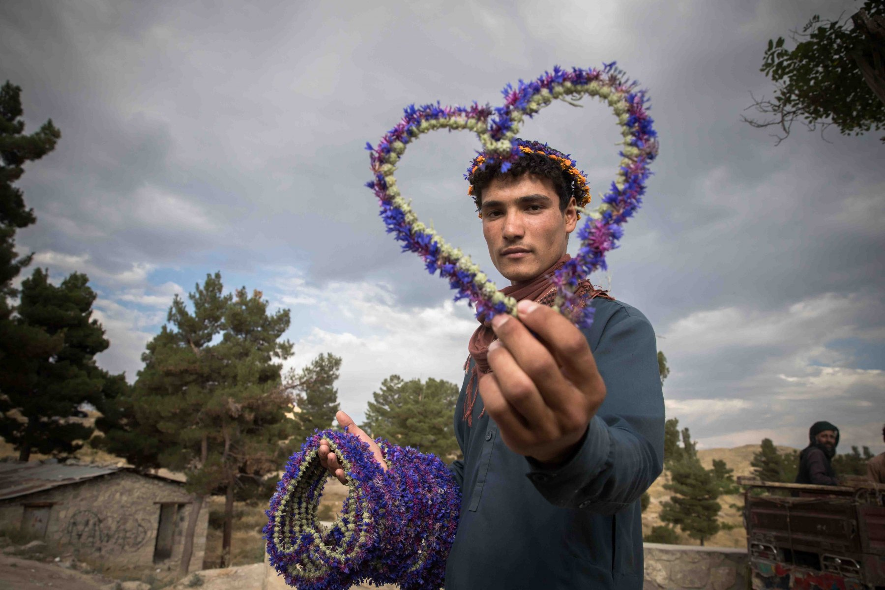 Of Afghans and Flowers