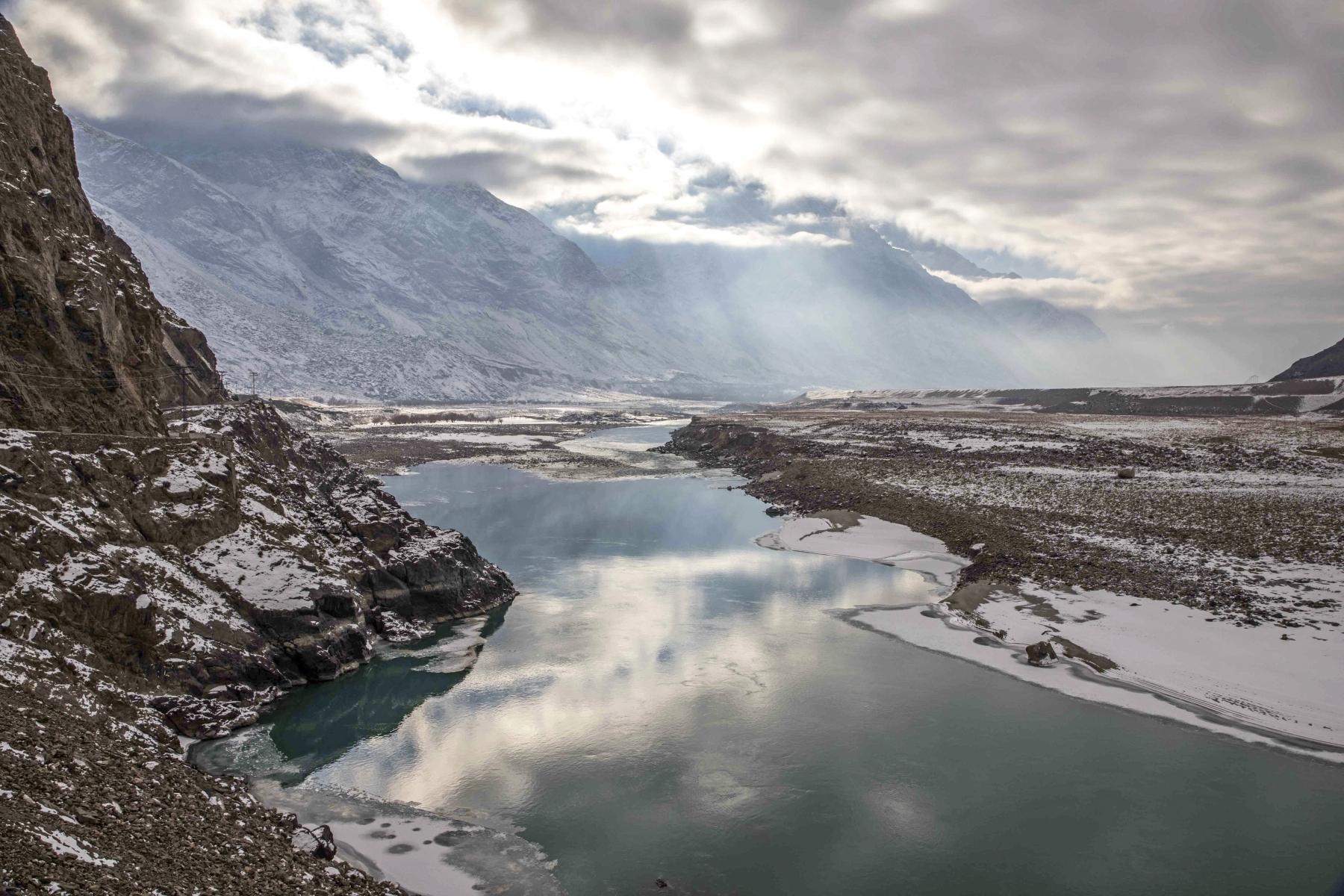 Indus river,