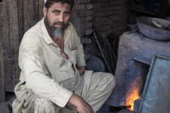 Iron monger making tools in Jalalabad
