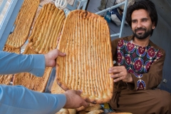 Man selling bread in Herat