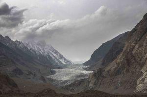 Passu glaciar, Hunza
