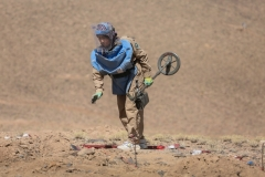 First women team demining in Bamyan