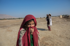 Child from the Kuchi community where the Nomad's Mobile Health Team is providing health care. Nomad's Mobile Health Team in Kandahar province. The purpose of Nomad's Mobile Health Team (MHT) is to provide primary health care services to the Kuchis, a nomad population. The Kuchis are mostly Pashto – speaking people, mainly from the south and east of Afghanistan, who have traditionally been nomadic, pastoralists. They spent the winter months in the lowlands and migrated to the pastures of the central highlands during the summer months. Before the introduction of roads and truck companies in the 1950s and 1960s, their camel caravans were important means of trading goods across Afghanistan. Their way of life has changed much during and since the wars. As a result of land mines and the severe droughts of 1971-72 and 1998-2002, the Kuchis are said to have lost 75% of their livestock. The traditional system of pasture rights seems to have lost its power. The most applicable and useful strategy to provide health services to Kuchis are mobile health teams. A team is composed by one male medical Doctor certified by Ministry of Education, one Midwife or Female Doctor, one or two vaccinator, and one Community Health Supervisor.